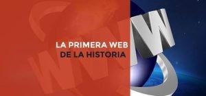 La primera web de la historia